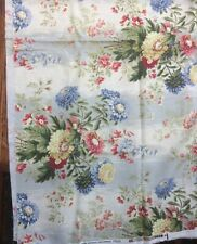 Estate Fabric 5th Ave Design Covington Floral Home Decor Vat Dyed  55
