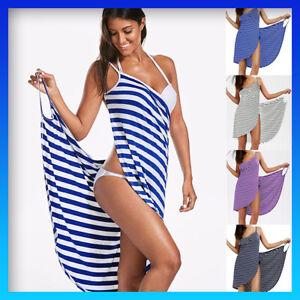 Women Wrap Spa Towel Beach Towel Robes Bath Wearable Fast Drying Summer Dress