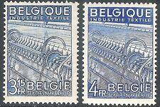 Belgium 1948 Industry blue 3f 15c blue 4f mint SG1225/1226