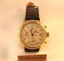 älterer Jean Marcel Automatic Chronograph Schweizer Herren Armbanduhr ID 132.078