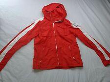 "Abercrombie & Fitch ""92 New York"" Grey Peak Orange Parka Hooded Jacket Men's M"