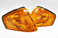 Mercedes SL Class W129 89-2002 Amber Corner Light Turn Signal Set Left+Right OEM