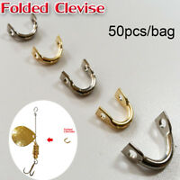 New DIY Easy Spin Brass Easy-Spin Clevises Spinner Fishing Lures Accessories
