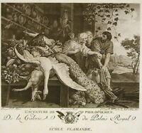 Peter Paul Rubens ADVENTURE of Philopoemen Engraving Ch. N. Varin Ed Lying 1786