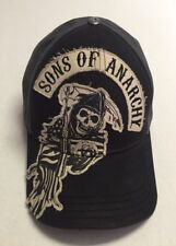 Sons of Anarchy Hat Television Baseball Cap L XL Grim Reaper Skull Destroyed TV