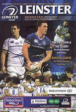 Leinster Rugby v Munster - RaboDirect Pro 12 Programme 2011