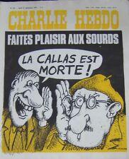 CHARLIE HEBDO No 358 SEPTEMBRE 1977 NICOULAUD FAITES PLAISIR AUX SOURDS