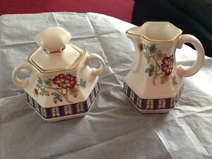 Sugar Bowl & Milk Jug Set