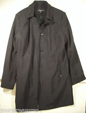 """GORGEOUS DRESSY LONG COAT BY """"JONES NEW YORK"""" w REMOVABLE LINING SIZE: L BLACK"""