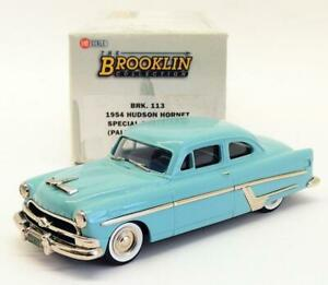 Brooklin Models 1/43 Scale BRK113 001 - 1954 Hudson Hornet Special Club Coupe
