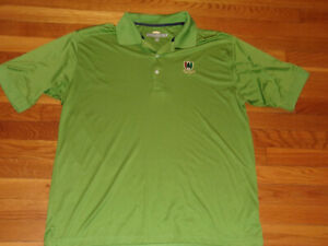 GREG NORMAN PINE VALLEY SHORT SLEEVE GOLF POLO SHIRT MENS XL EXCELLENT CONDITION