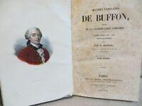 oeuvres complètes de Buffon classification comparée Cuvier Lesson gravures 1838