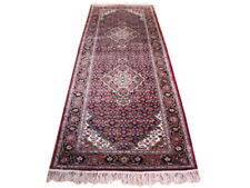 Burgundy 2 ft 6 in x 8 ft Traditional Hand-knotted Chinese Silk Fine Mahi Rug