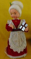 San Francisco Music Box Company Mrs. Claus (1980's) Wish You a Merry Christmas