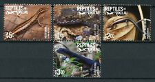Tokelau 2017 MNH Reptiles of Tokelau Skinks Geckos 4v Set Lizards Stamps