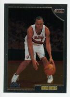 1998-99 Topps Chrome BONZI WELLS Rookie Card RC #205 Portland Trailblazers