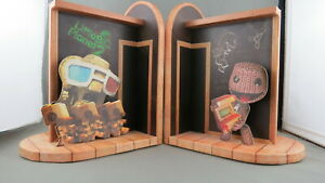 Little Big Planet 2 Book Ends - From Collector's Edition - Very Collectible