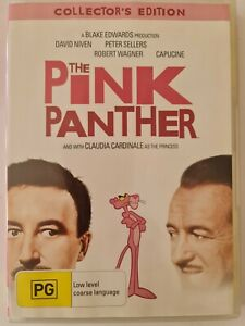 The Pink Panther DVD - Region 4 - The Original Version - Free Postage