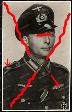 Foto-AK-Studio-Portrait-Küstenartillerie-Marine-Nahkampfspange-NKS-EK1-Soldat