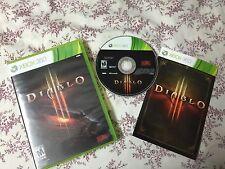 Diablo Iii (Microsoft Xbox 360, 2013)Complete