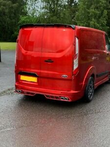 FORD TRANSIT CUSTOM M STYLE EXHAUST ENDS /MUFFLER TIPs L+R set