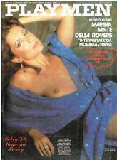 PLAYMEN N. 5 del 1980 - Marina Lante della Rovere + Poster