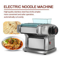 135W Stainless Steel Electric Spaghetti Pasta Maker Machine 2.5mm 4mm 9mm 220V