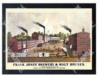 Historic Frank Jones' Brewery & Malt Houses 1901 Advertising Postcard