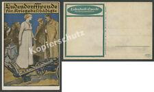 Wilhelm Schulz Ludendorffspende 1. Weltkrieg Landser Deutsches Reich Pflug 1915
