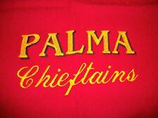 VTG PALMA CHIEFTAINS HIGH SCHOOL WOOLRICH 100% WOOL STADIUM THROW BLANKET 55X37