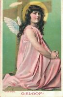Angel - Vintage Postcard - FAITH 03.45