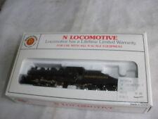 N Scale Bachmann USRA 0-6-0 Switcher & Tender Pennsylvania Steam Loco (runs)