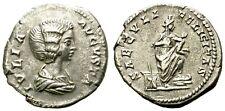 JULIA DOMNA.193-217 DC. DENARIO. ROMA.  SAECVLI - FELICITAS.