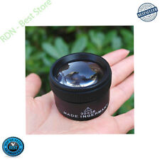 Bonayuanda Magnifier Loop Jeweler Optics Microscope Magnifying Glass Lens 30x36