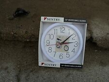 "VINTAGE NOS SENTRY 10"" WALL CLOCK W/PIC OF 5 SPEED SCREAMER $79.95 AD GOOD"