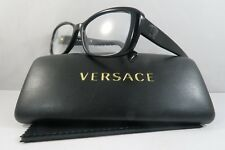Versace Women's Black Eyeglasses with Case 54mm MOD 3228 GB1