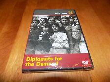 DIPLOMATS FOR THE DAMNED WWII Holocaust Rescue Diplomat Nazi Terror DVD NEW