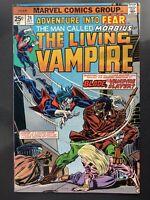Marvel Comics Adventure into Fear #24 Living Vampire Morbius 1st meeting Blade