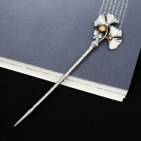 Chinese Style Hairpin Metal Pearl Hair Stick Hair Chopsticks Charm Chignon Pin