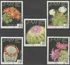 Timbres Flore Sahara occidental o lot 5313