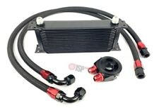 @@ Universal Ölkühler Kit 16 Reihen Black VR6 16V 1.8T S2 Turbo @@