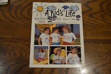 Vintage Iron-On Transfer Books T-Shirt Patterns A Kids Life
