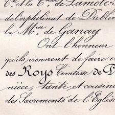 Marie Jeanne Des Roys Ludovic Henri De Piolenc 1870