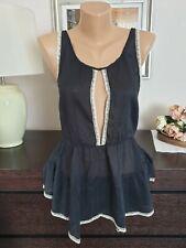 DONDUP Ladies Black Top Size 12
