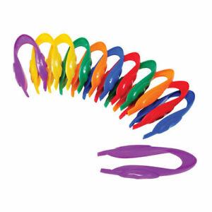 Easy Grip Tweezers - Set of 12