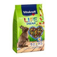 VITAKRAFT Life Dream für Zwergkaninchen-1,8kg-Hasenfutter Zwergkaninchenfutter