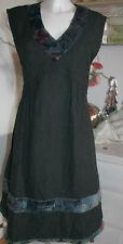 Inge de Jonge Winter- Kleid Dress Tunic Raymonde Black Melange size: 40  Neu