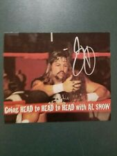AL Snow-signed photo - Pose 5