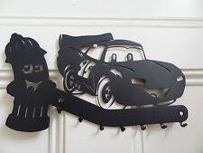 Metal rack with car design, perfect for Christmas gift