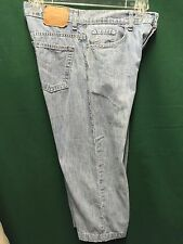 "Levis 577 100% Cotton Faded Blue Jeans Size 8 mis  Actual 31""  x 22"" Low Rise"